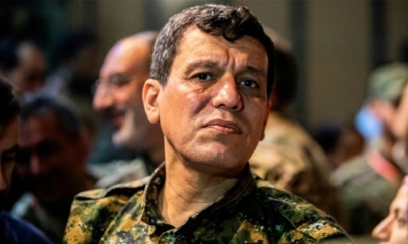 قائد قوات سوريا الديمقراطية مظلوم عبدي شاهين (فرانس يرس)