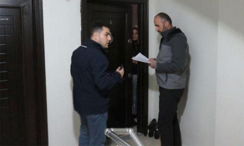 البحث عن السوريين غير السمجلين في ولاية اسطنبول، 11 من كانون الأول 2019 (Hürriyet)