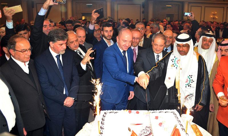 الاحتفال بالعيد الوطني للإمارات في سفارتها بدمشق -2 كانون الأول 2019 (سانا)