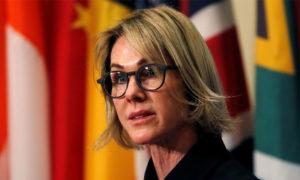 السفيرة الأمريكية بالأمم المتحدة كيلي كرافت -12 أيلول 2019- (رويترز)