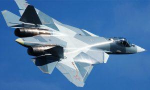 """مقاتلة """"SU-57"""" (وكالة سبوتنيك)"""
