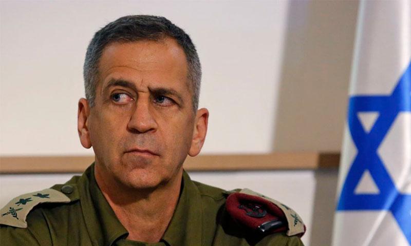 رئيس أركان الجيش الإسرائيلي أفيف كوخافي (فرانس برس)
