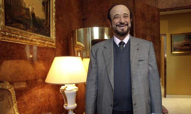 رفعت الأسد في باريس - 15 تشرين الثاني 2011 (AP)
