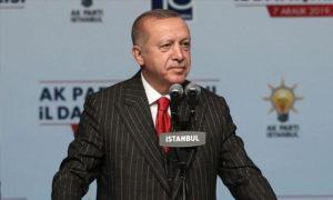 الرئيس التركي رجب طيب أردوغان -7 كانون الأول 2019- (الأناضول)