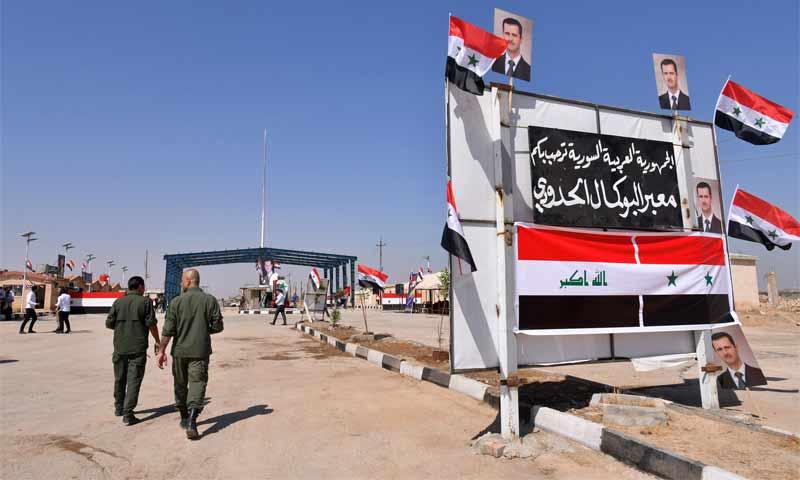 معبر البوكمال القائم الحدودي مع العراق - 30 أيلول 2019 (AFP)
