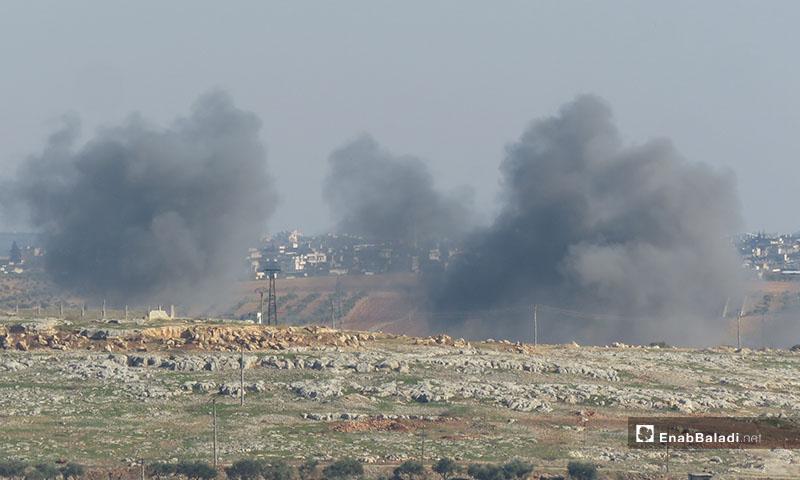 استهداف الطرقات حول المدن جنوبي إدلب -18كانون الأول 2019 (عنب بلدي)
