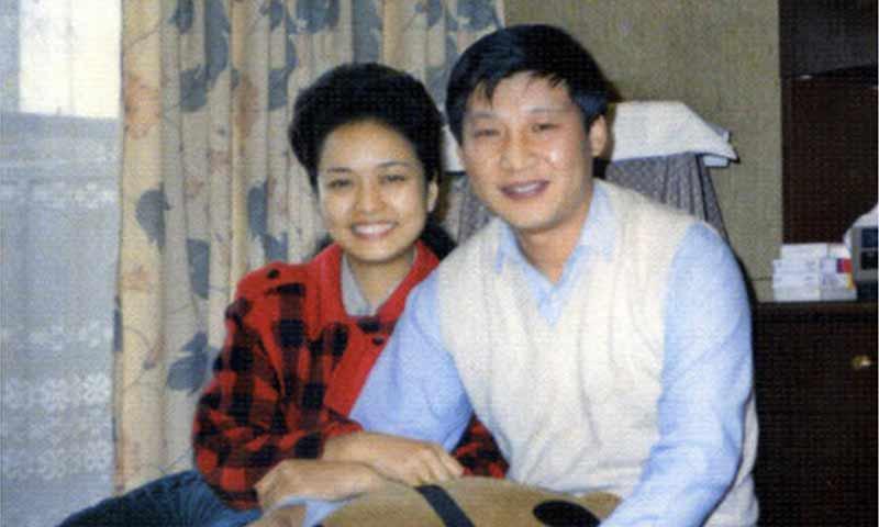 شي جين بينغ وزوجته - أيلول 1989 (XINHUA)