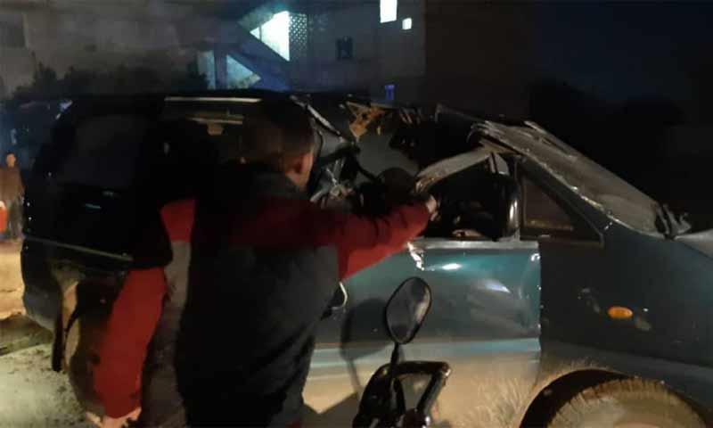 """استهداف أحد قيادي """"هيئة تحرير الشام"""" في أطمة بريف إدلب الشمالي - 3 كانون الأول 2019 (Telegraph)"""