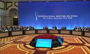 اجتماع أستانة - 11 كانون الأول 2019 (سانا)