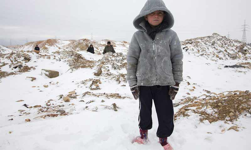 طفل سوري في البقاع في لبنان - (UNHCR)