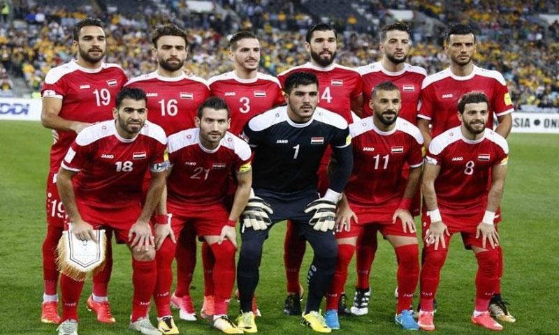 لاعبي المنتخب السوري