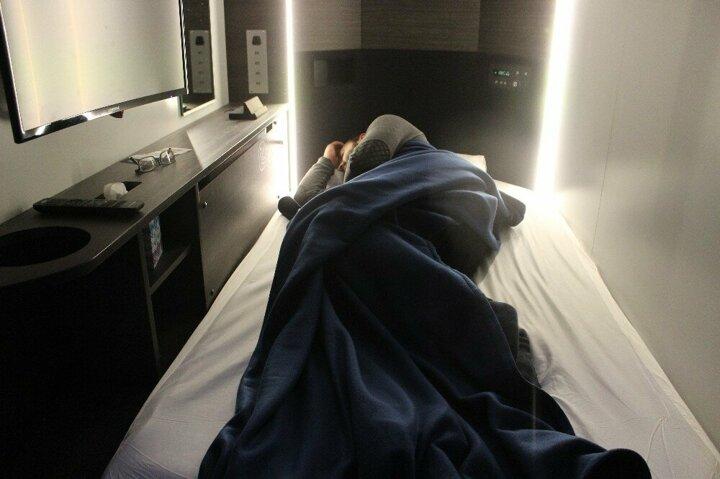 كبائن النوم الحديثة في مطار صبيحة جوكتشن (يني شفق)