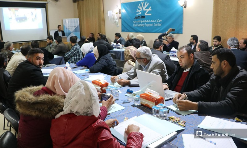 """فعاليات مدنية ضمن حملة """"نحن أهلها"""" شمال شرقي سوريا، عنب بلدي، 2020"""
