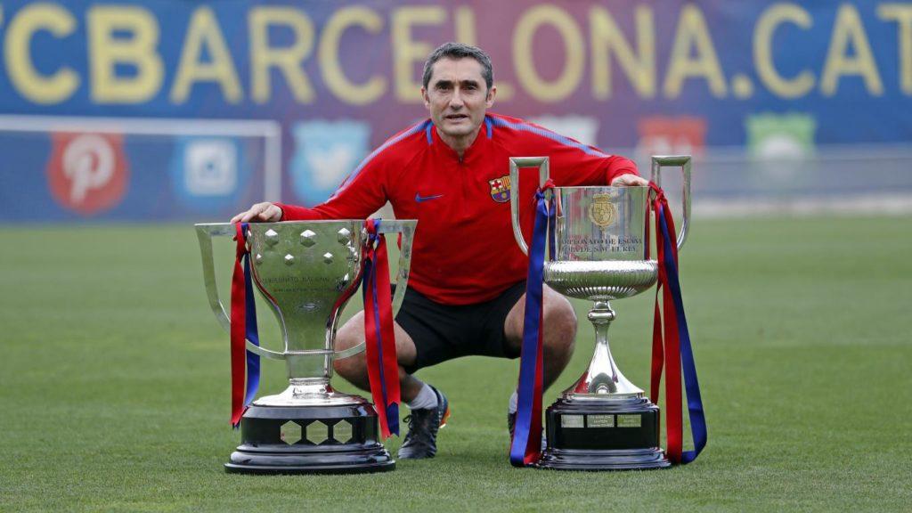 المدرب السابق لفريق برشلونة إرنستو فالفيردي (الحساب الرسمي لبرشلونة في تويتر)