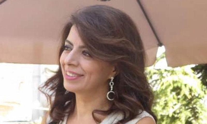 غادة شريم وزيرة المهجرين (القوات اللبنانية)