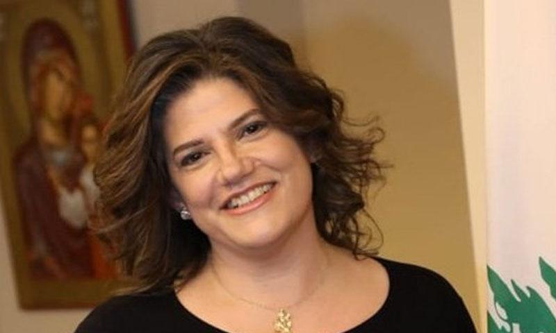 لميا الدويهي وزيرة العمل اللبنانية (القوات اللبنانية)