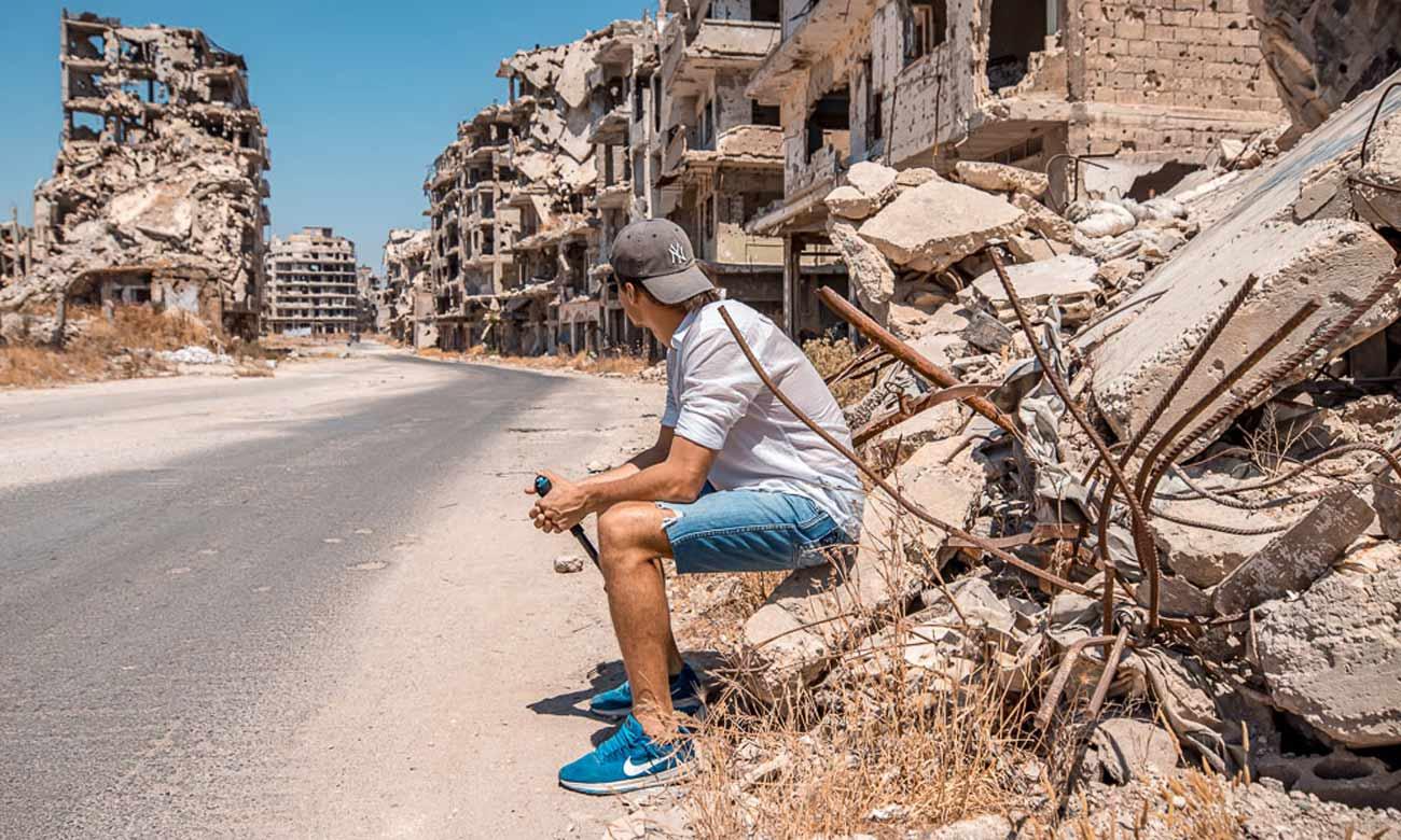 الدمار في حمص - 2019 (Traveltom)