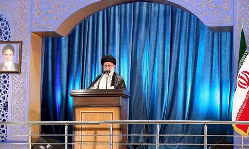 المرشد الأعلى للثورة الإيرانية علي خامنئي (وكالة أنباء فارس)