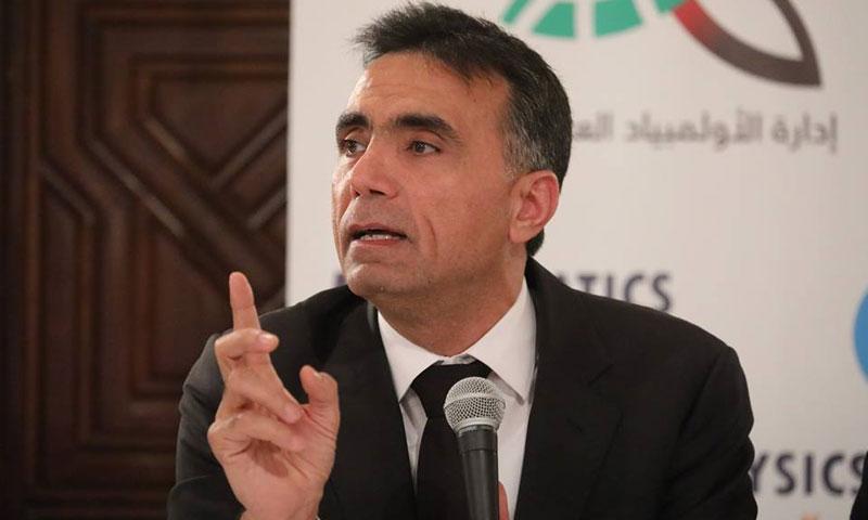 وزير التربية، عماد العزب (SANA)