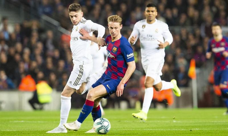 مباراة الكلاسيكو الإسباني - كانون الأول 2019 (موقع نادي برشلونة)