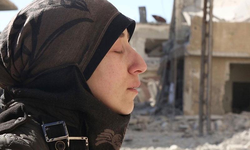 الطبيبة السورية أماني بلور (تريلر فيلم الكهف)
