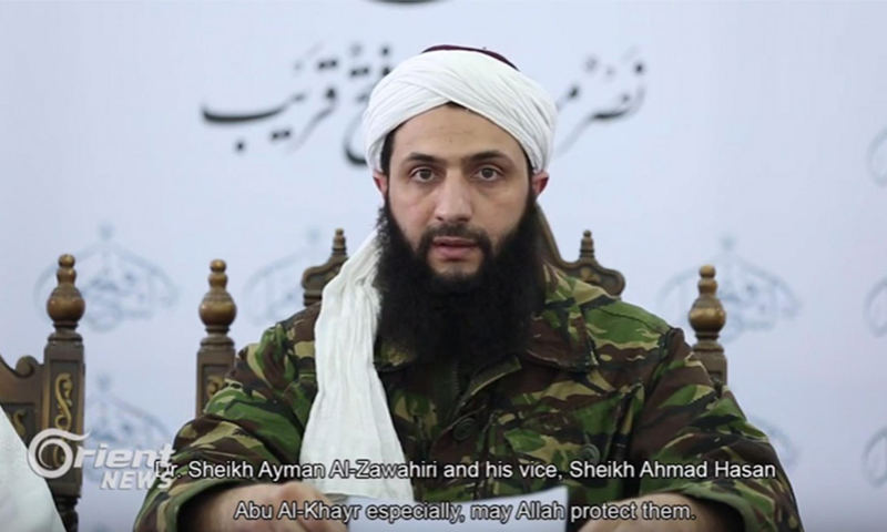 أمير جبهة النصرة في سوريا أبو محمد الجولاني