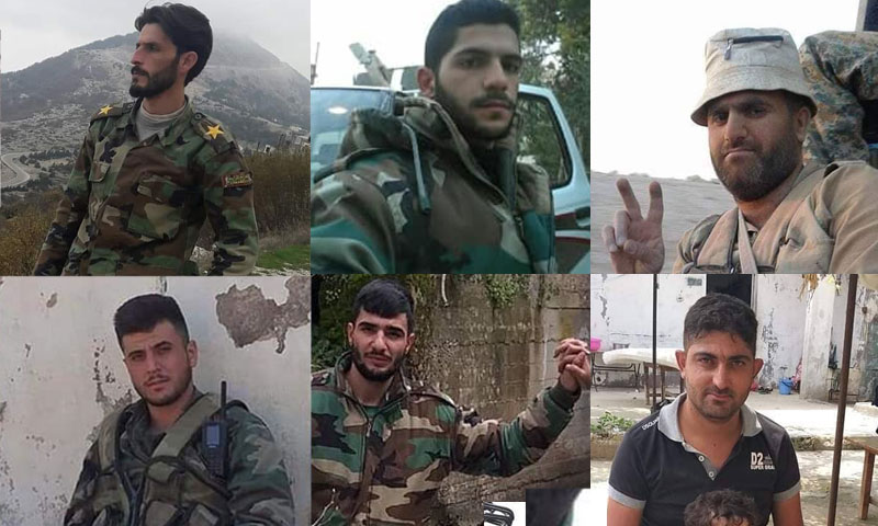 قتلى قوات النظام على جبهات ريفي حلب وإدلب (صفحات محلية)