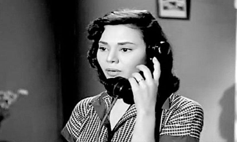 الممثلة الراحلة ماجدة الصباحي في أحد أفلامها في الخميسنات (نجومي)
