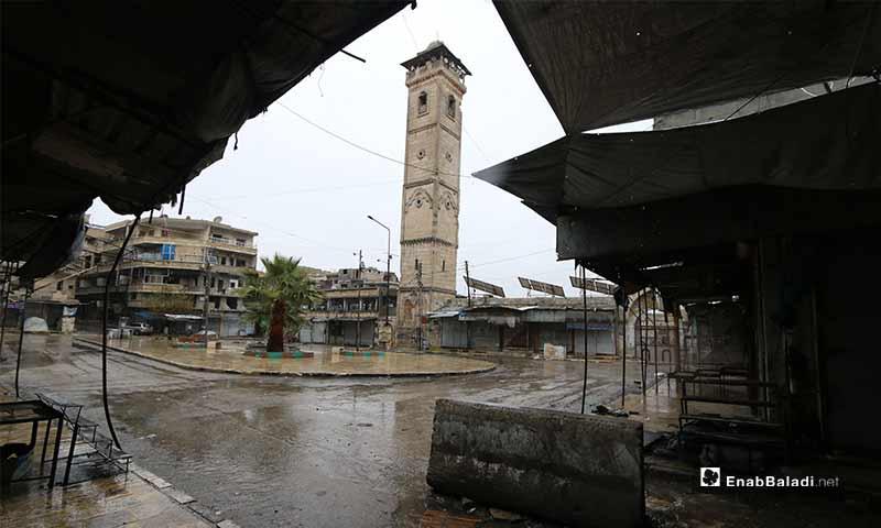 على مرأى من جامعها الكبير، الذي يعد من أقدم المساجد في سوريا، احتشد أهلها بمظاهرة تلو الأخرى طيلة أعوام النزاع الماضية.