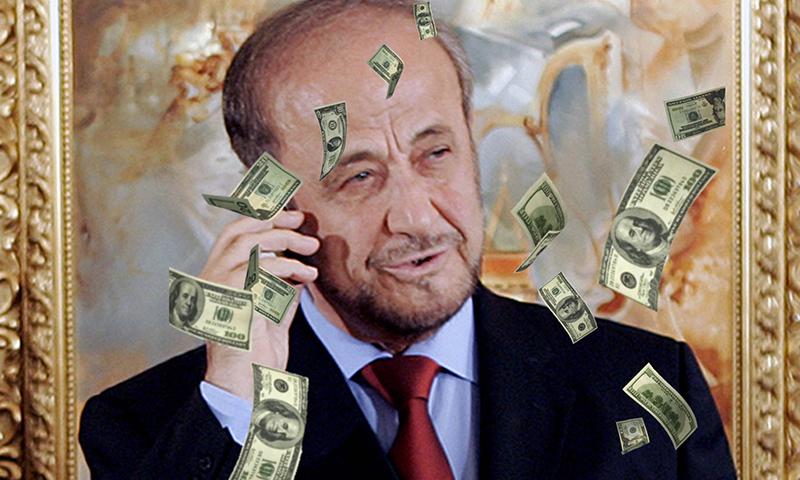 رفعت الأسد (تعديل عنب بلدي)