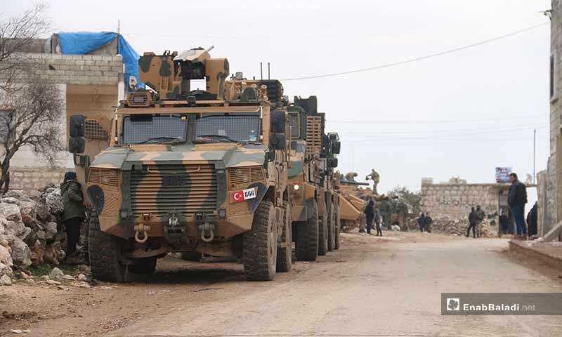 النقطة العسكرية في بلدة ترمانين - 15 شباط 2020 (عنب بلدي)