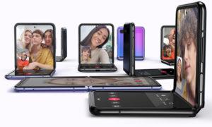 """هاتف سامسونج الجديد """"Galaxy-Z-flip"""" القابل للطي-12 من شباط(Samsung)"""