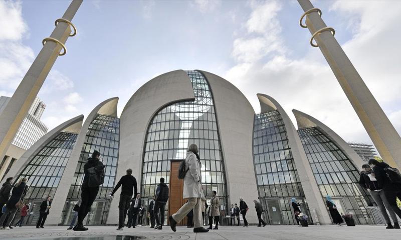 مسجد في العاصمة الألمانية برلين (AP)