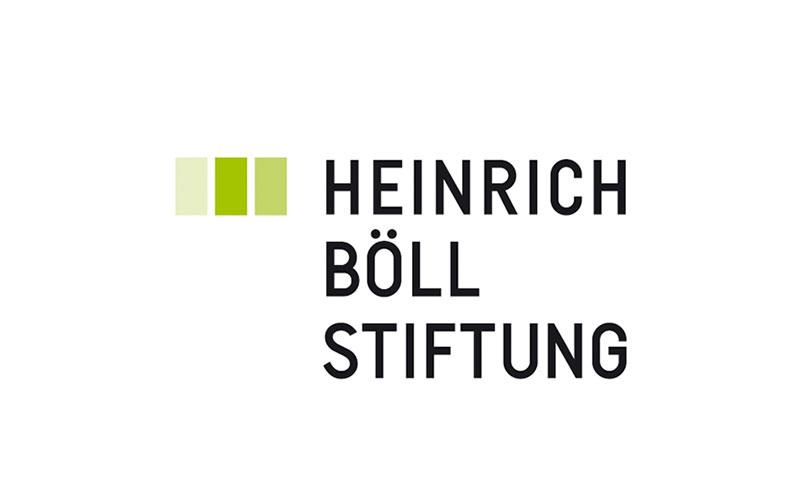 """شعار مؤسسة """"هاينريش بول"""""""