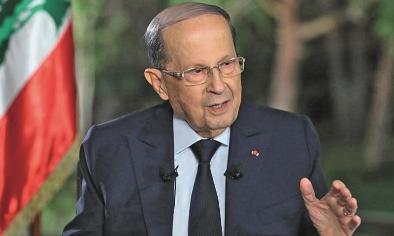 الرئيس اللبناني ميشيل عون (فرانس برس)