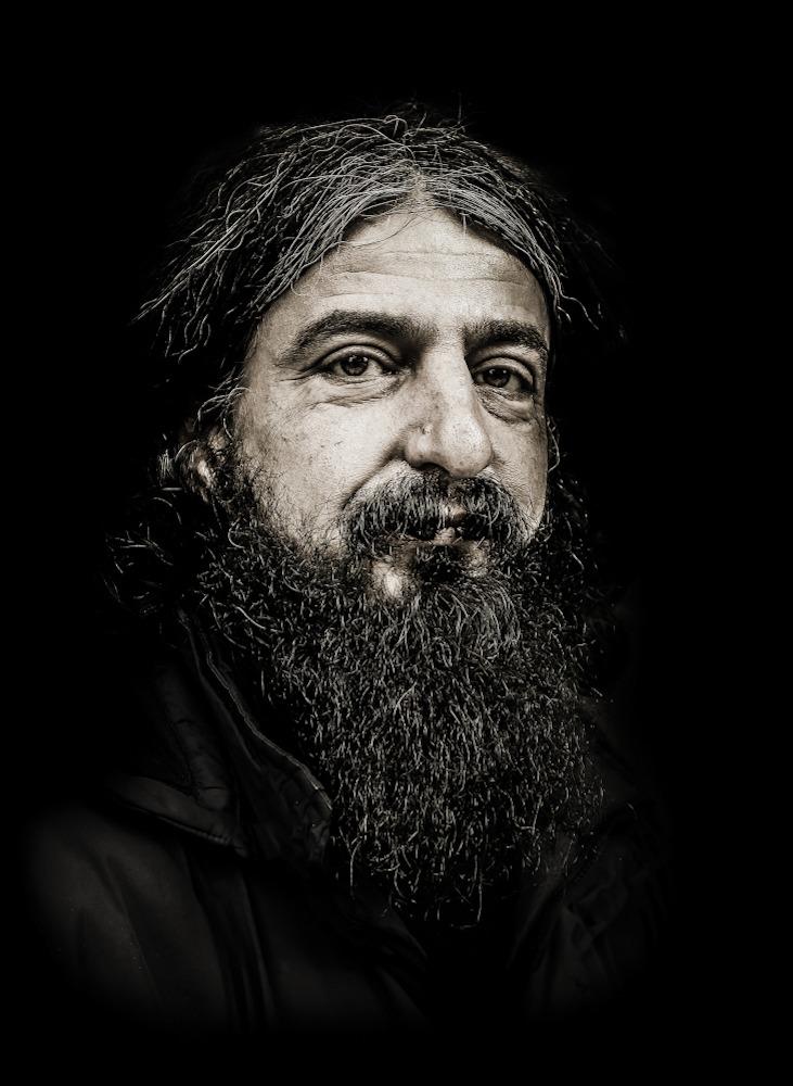 """صورة بورتريه تحت عنوان """"الفيلسوف""""- أنقرة 2014 (بنكين أحمد)"""