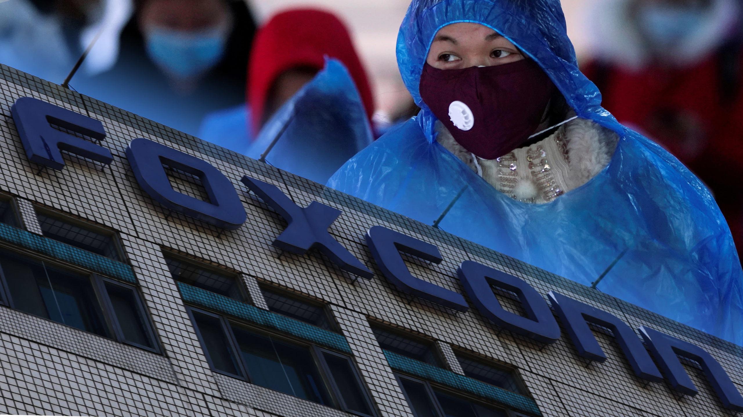 من المحتمل أن يؤثر تعطيل إنتاج فوكسكون على إمدادات أجهزة آيفون- 9 من شباط (nikkei)