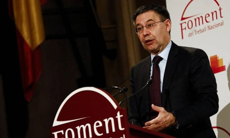 رئيس برشلونة جوزيف بارتيميو (صحيفة AS)