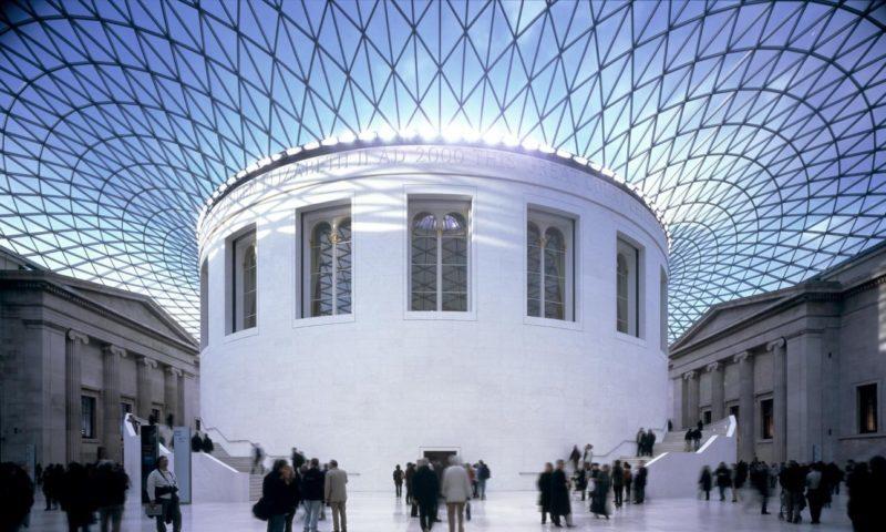 المتحف البريطاني )الصفحة الرسمية للمتحف )