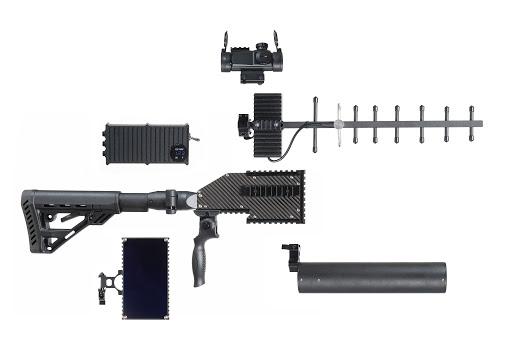 """سلاح """"E-60"""" الكهرومغناطيسي مضاد الطائرات المسيرة- 15 من آذار (HARP)"""