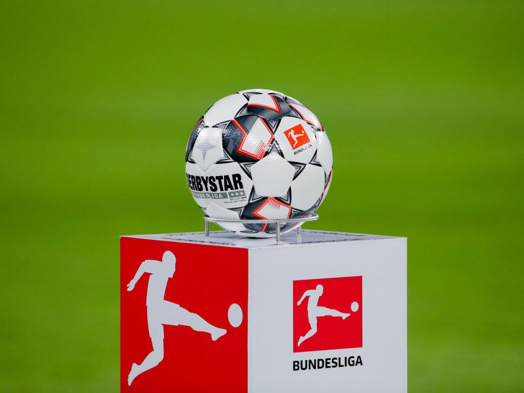 شعار الدوري الألماني (البونديسليغا) مع كرة انطلاق الموسم 19-20- (dpa)