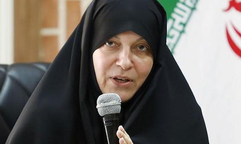 النائب في البرلمان الإيراني فاطمة راهبر (وكالة تسنيم الإيرانية)