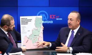 وزير الخارجية التركي مولود تشاويش أوغلو 10 من آذار 2020 (وكالة الأناضول)