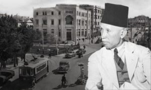 رئيس وزراء سوريا الأسبق نصوحي البخاري أو نصُّوح البخاري 1881 ـ 1962 (تعديل عنب بلدي)