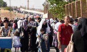 اللاجئون السوريون في تركيا (AFP)