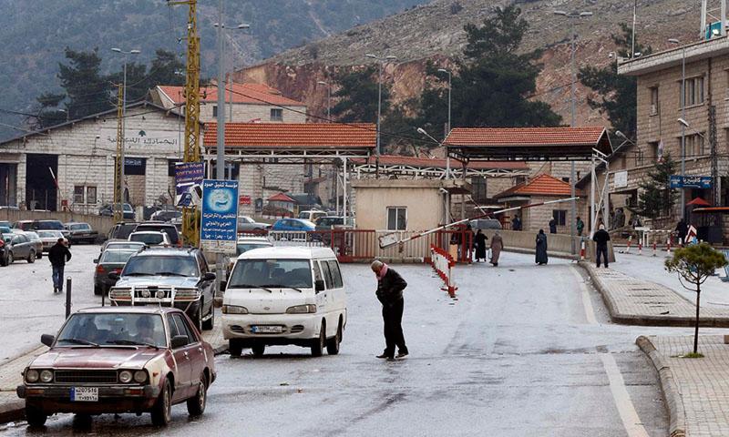 معبر المصنع الحدودي بين سوريا ولبنان