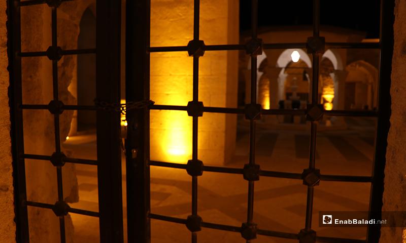 المسجد الكبير في مدينة الباب بريف حلب ليلة رمضان- 23 من نيسان (عنب بلدي)