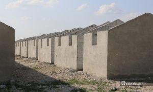 إنشاء 381 وحدة سكنية بديلًا عن خيام النازحين في مخيم الكعيبة بريف حلب الشمالي- 7 من نيسان (عنب بلدي)