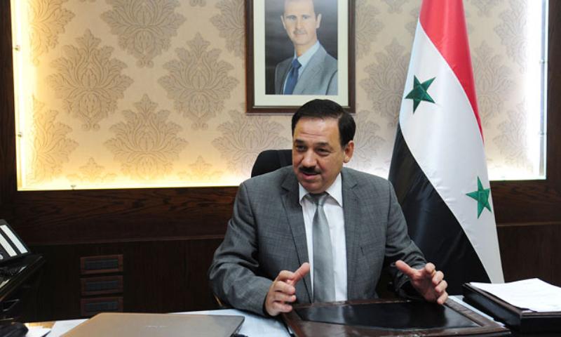 وزير المالية السوري مأمون حمدان، (سانا)