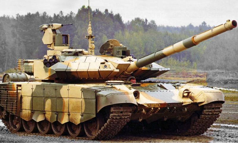 """دبابة """"T-90"""" الروسية الحديثة (Nationalinterest)"""